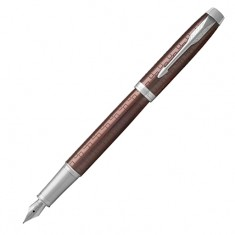Parker IM Premium - Brown CT, перьевая ручка, F