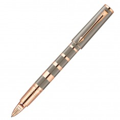 Parker Ingenuity - F Taupe & Metal Pink Gold PVD GT, ручка 5th пишущий узел, F, BL