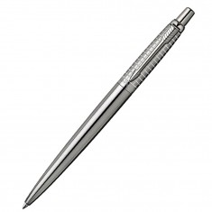 Parker Jotter Premium - Classic Stainless Steel Chiselled CT, шариковая ручка, M
