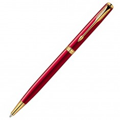 Parker Sonnet - Essential Red GT Slim, шариковая ручка, F, BL