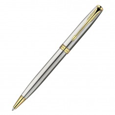 Parker Sonnet - Essential Stainless Steel CT, шариковая ручка, M, BL