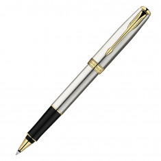 Parker Sonnet - Essential Stainless Steel GT, ручка-роллер, F, BL