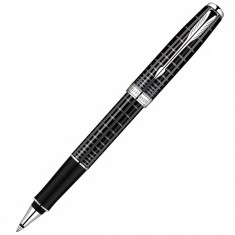 Parker Sonnet - PREMIUM Dark Grey CT, ручка-роллер, F, BL