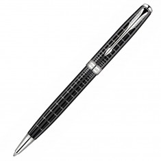 Parker Sonnet - PREMIUM Dark Grey CT, шариковая ручка, M, BL