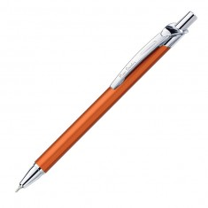 Pierre Cardin Actuel - Orange Chrome, шариковая ручка, M