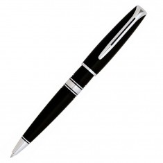 Waterman Charleston - Ebony Black CT, шариковая ручка, M