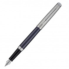 Waterman Hemisphere Deluxe Privee - Saphir CT, перьевая ручка, F