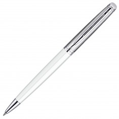 Waterman Hemisphere - Deluxe White CT, шариковая ручка, M