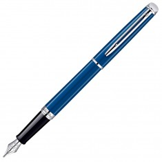 Waterman Hemisphere - Obsession Blue CT, перьевая ручка, F
